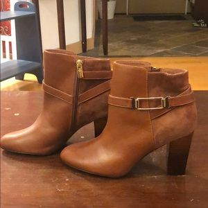 Camel/Tan Ankle Boots